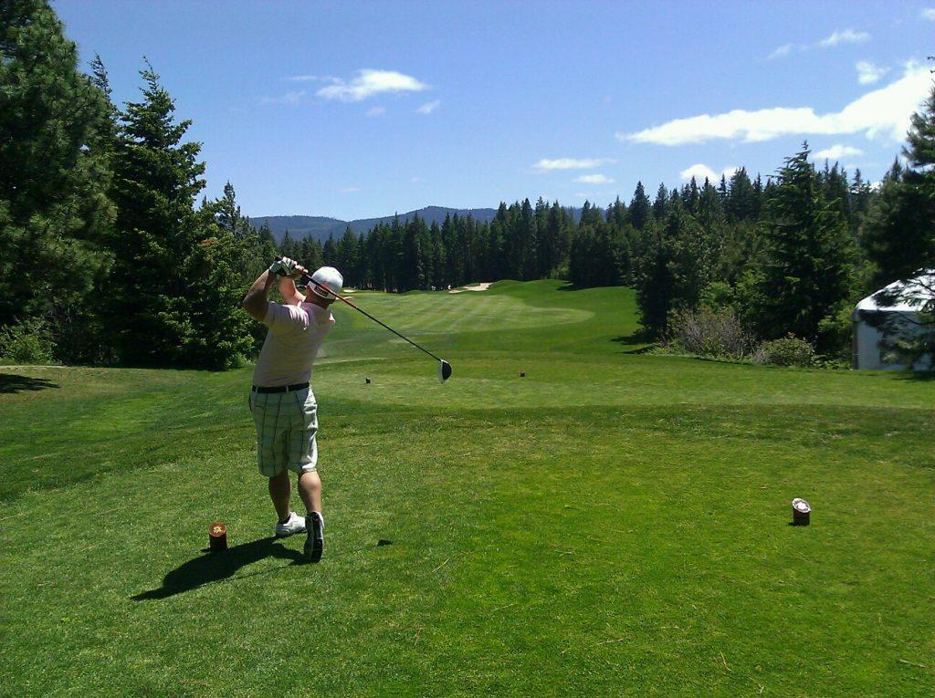 Utslag i golf