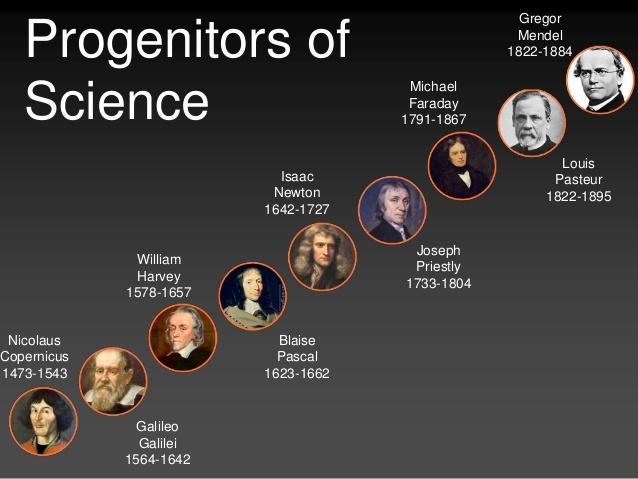 Vetenskapsmän uppräknade