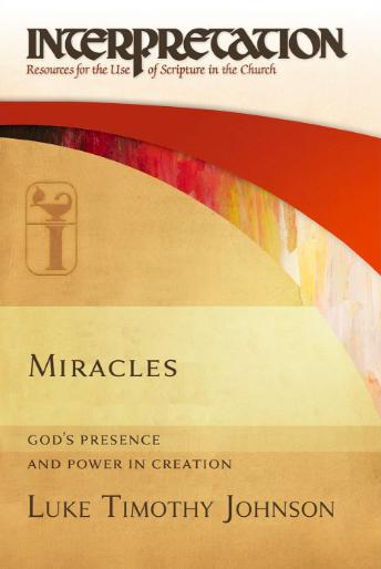 Bokomslag. Miracles av Luke Timothy Johnson.